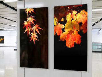China Silvery White Ultra Thin HD Frameless Light Box Double Sided Light Box supplier