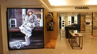 China Fabric SEG Frameless Light Box Single Sided Wall Mounted Light Box Energy Saving supplier