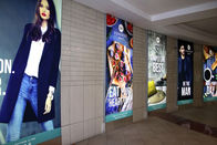 China Retail Design Textile Light Box Double Sides Dye Sublimation Printing factory