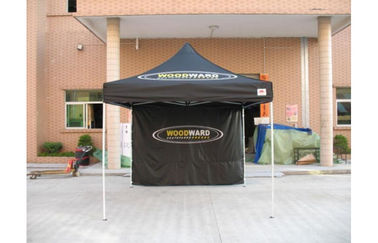 China Waterproof 10 By 10 Pop Up Canopy Tent With Sidewalls 100% Polyester 500D distributor