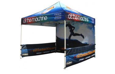 China PU Coated Advertising Outdoor Pop Up Canopy Tent 12x12 UV Protection distributor