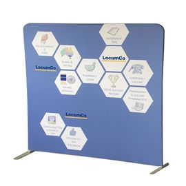 China Portable Tension Fabric Displays Free Standing Photo Booth Recycled Materials distributor