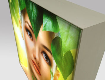 China Retail Display LED Frameless Fabric Light Box , Rectangle Backlit LED Lightbox distributor