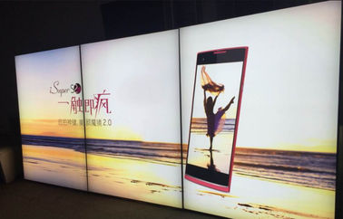 China Ultra Slim textile frameless Fabric LED Light Box Eco Friendly Full Color distributor