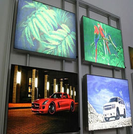 China High Brightness CYMK Backlit Fabric Lightbox For Movie Poster Display distributor